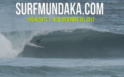 MUNDAKA HIGHLIGHTS. 14 DE DICIEMBRE DEL 2017